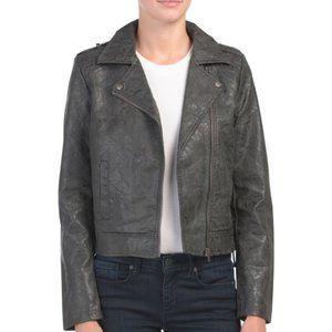 Jack by BB Dakota Faux Leather Jacket Sz. M